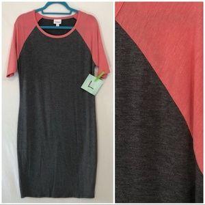 LuLaRoe Julia Dress Size Large NWT